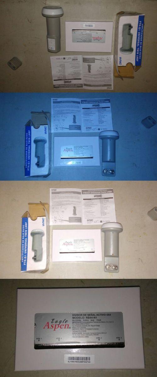 Satellite TV Receivers: Lnb Doble De Sky( Kit Set) + Divisor De Senal 4X4 Model:Rb44-N1 BUY IT NOW ONLY: $99.0