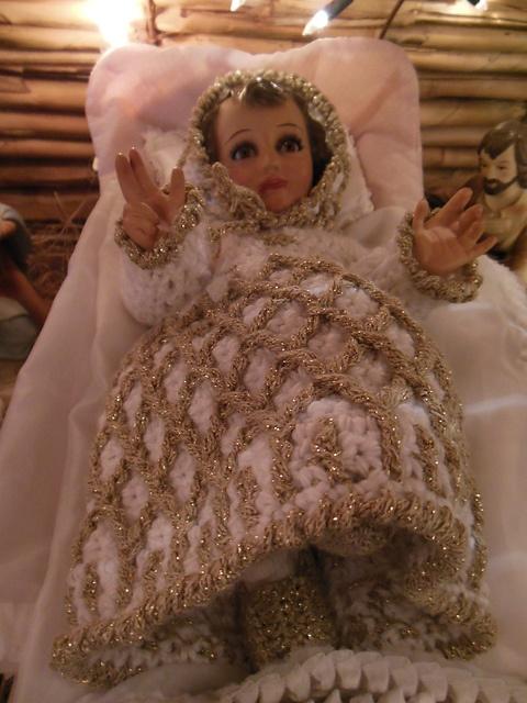 Gown for Baby Jesus (Vestido del Nino Dios)