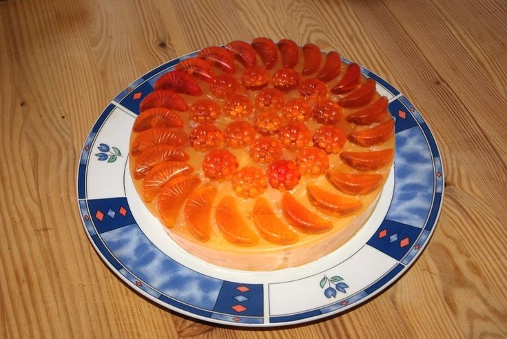 """Do you find difficult to select among the so many Summer Fruits? It's a """"Piece of Cake"""" to choose among all our fragrant display decorative Summer Fruits cakes made from naturally scented soap. Here an apricot cake!"""