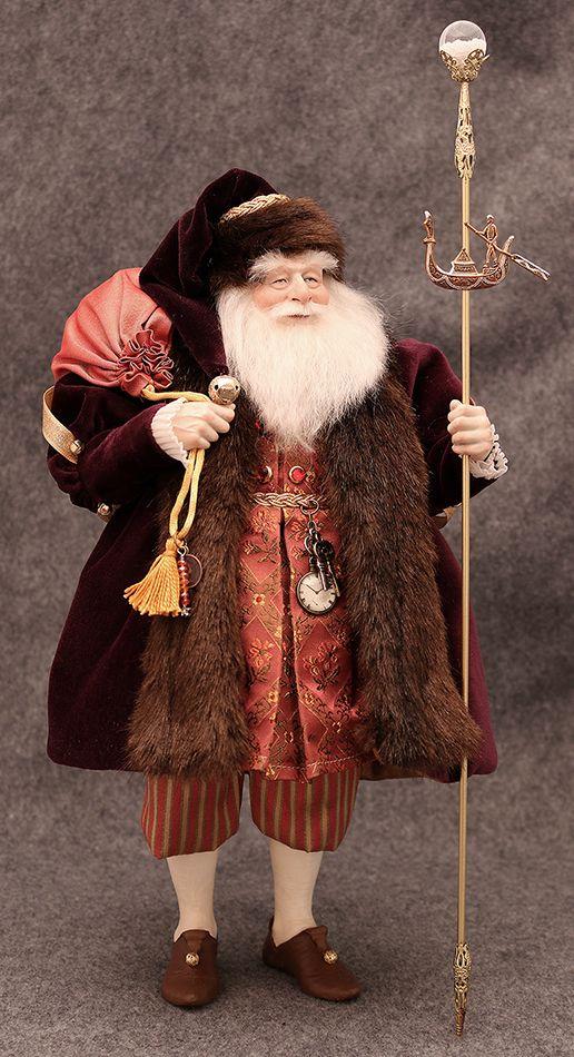 Santa in Italy by Kat Soto