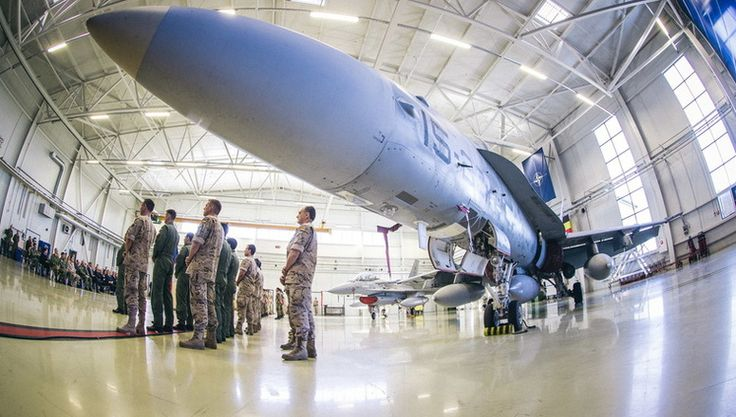 For the next four months, the United States and Belgium will conduct NATO's Baltic Air Policing mission, safeguarding the airspace over the region. At a ceremony on Tuesday (5 September 2017), Belgium took over the supporting role from Spain, operating out of Ämari, Estonia. The United States assumed the lead role at Šiauliai Air Base in Lithuania on 30 August.