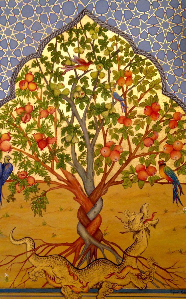 Aynur Gürsoy.Hayat Ağacı.