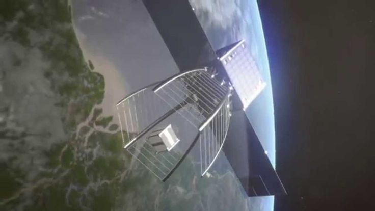 A giant Pac-Man to gobble up space debris - The Clean Space One Project has passed a milestone. The space cleanup satellite will deploy a conical net to capture the small SwissCube satellite before destroying it in the atmosphere. It's one of the solutions being tested for eliminating dangerous debris orbiting the Earth.
