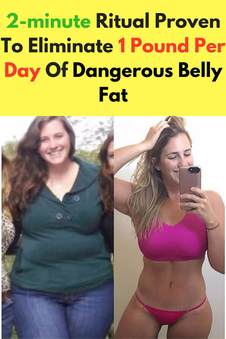 2-minute Ritual Proven To Eliminate 1 Pound Per Day Of Dangerous Belly Fat