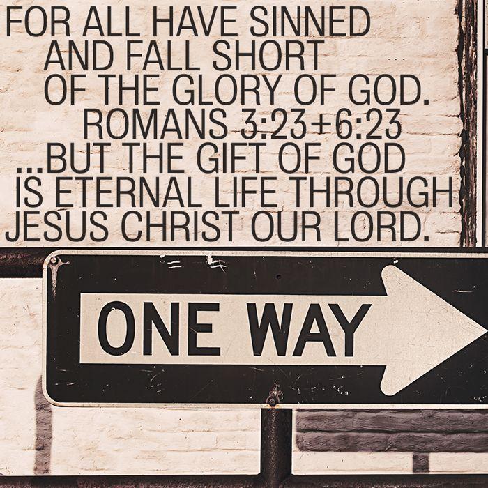 Romans 3:23 and Romans 6:23 #Bible #Jesus #wordsearchbible