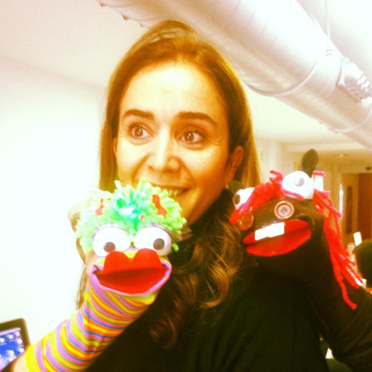 Nuestra compañera Fuen no para de hacer calcetines #SanCalcetin #dejatesorprender @grupoanton