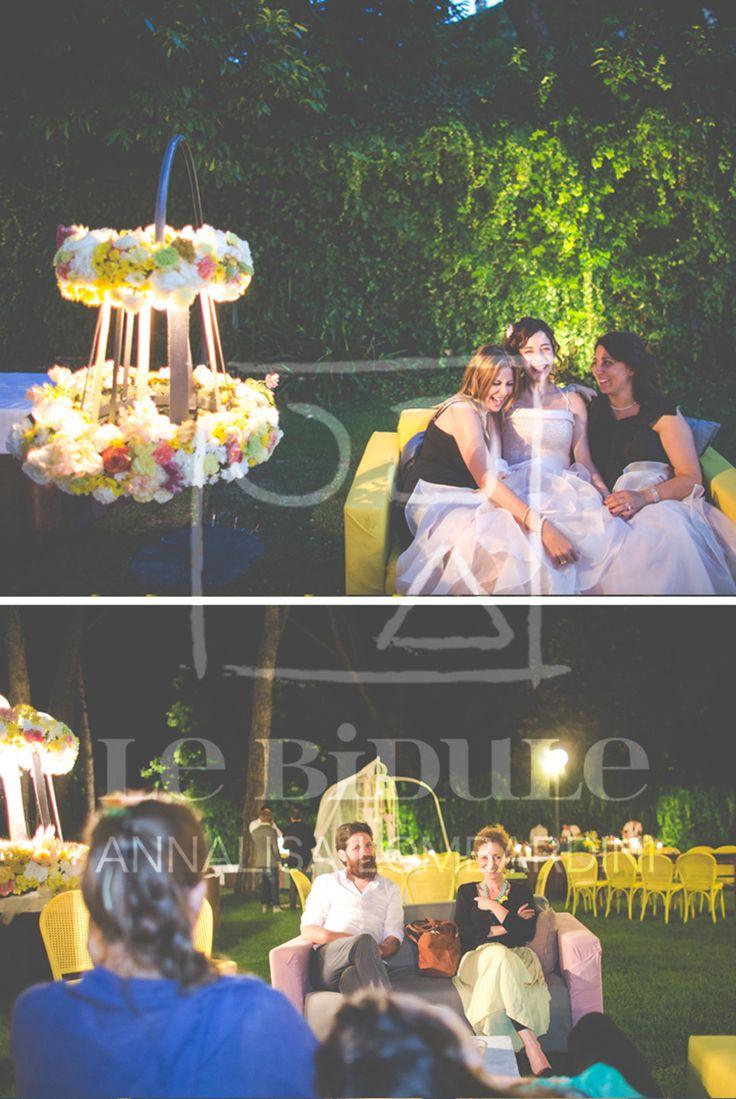 Arredi e allestimenti decorativi e floreali - Wedding furniture, flowers and decors by @nanni31 @LeBidule