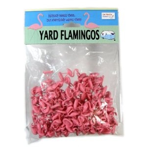 Amazon.com: Yard Flamingos - Trailer Park Wars Additional Pieces: Toys & Games