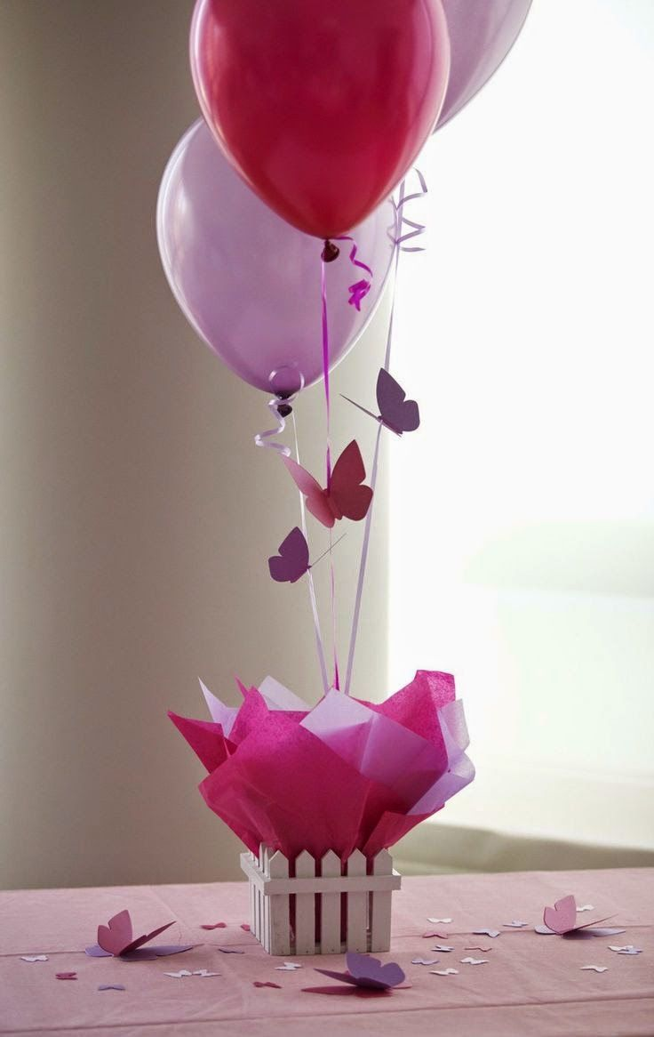 13 ideas de decoración con globos para baby shower - Baby Shower Perfecto