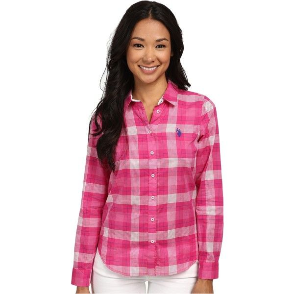 61 best images about u s polo shirt assn on pinterest for Womens button up polo shirts