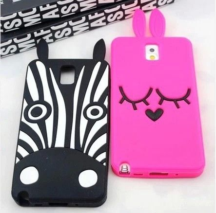 3D Animal Dog Horse Zebra Soft Silicon Phone Samsung Galaxy Note 3 Case, also for note 2 is made of light, soft but strong polymer. It is stain and scratch resistant. It offers great protection of your Phone without adding bulk. Get it to dress up your new Samsung Galaxy note 2, note 3 .