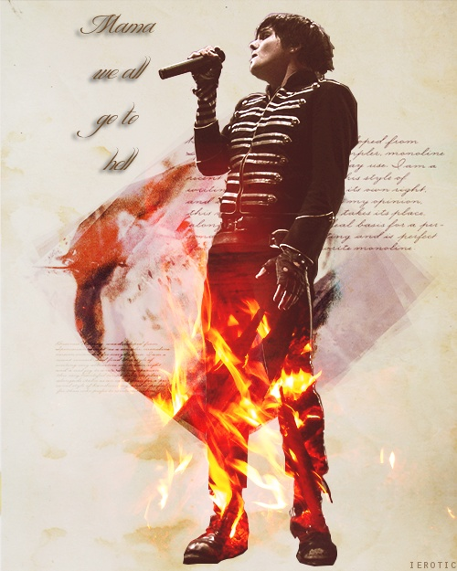 It's really quite pleasant except for the smell... Mama - My Chemical Romance