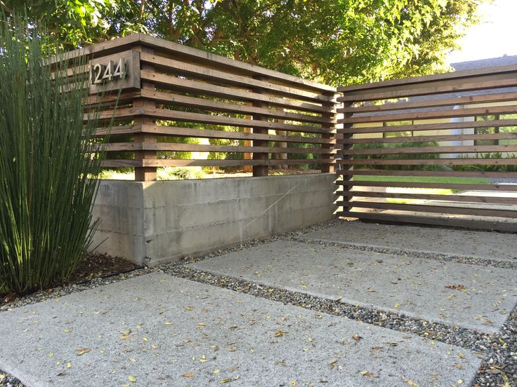 Hardscaping 101: Poured-In-Place Concrete - Gardenista 10/25/16