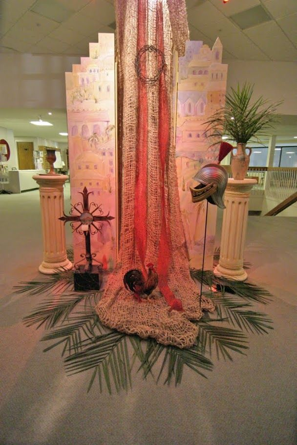 Holy Week display - Orchard Hills Church