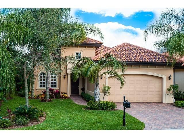12626 Grandezza Circle, Estero FL - 3 bed / 2 full bath 1,975 sqft MLS#213010306 Neutral interior color palette with towering 16 foot foyer ceiling and 18X18 ceramic floor…  tile throughout the living area. Custom wood plantation shutters, Woven Wood, H-D Vertiglide window treatments, and tasteful complimentary faux paint for the tray ceilings. For the kitchen upgraded 42 inch cabinets, granite counter tops, and a Bosch ultra quiet dishwasher & Bosch front loading washer and dryer.  $409,900