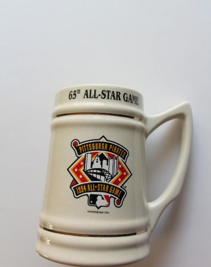 Vintage Pittsburgh Pirates All Star Game Ceramic Beer Stein 1994 #PittsburghPirates