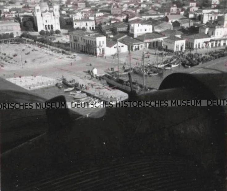 Η ΧΑΛΚΙΔΑ ΑΠΟ ΓΕΡΜΑΝΙΚΟ ΑΕΡΟΠΛΑΝΟ ΤΟ 1941