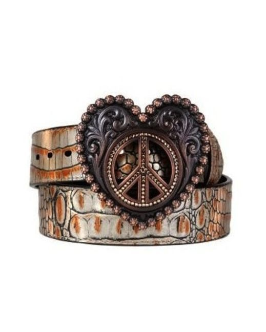 Ariat Women's Luxe BeltBelts Buckles, Ariat Women, Style, Peace Signs, Woman, Westerns Belts, Ariat Belts, Women Luxe, Luxe Belts