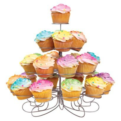 Wilton Cupcakes and More Stand - Silvertone (Holds 23).Opens in a new window