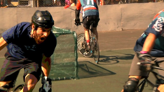 Video images from 2012 North American Bike Polo Championships