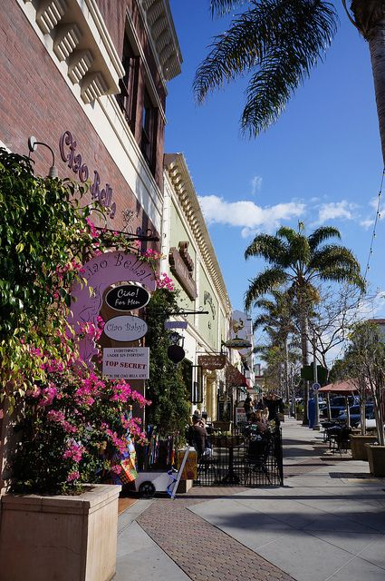 Ventura, California, Main Street downtown