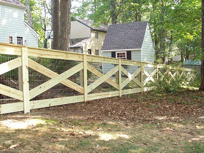 Gallery | Wooden Rail Fences For Your Virginia Farm Property | Fence Scapes LLC