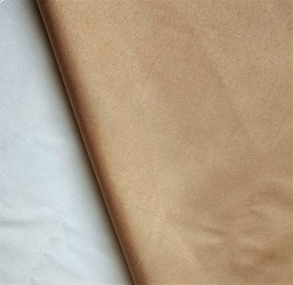 Light Beige Art Silk Fabric By The Yard, Faux Silk Curtain Fabric, Apparel Fabric, Silk Dupioni Fabr