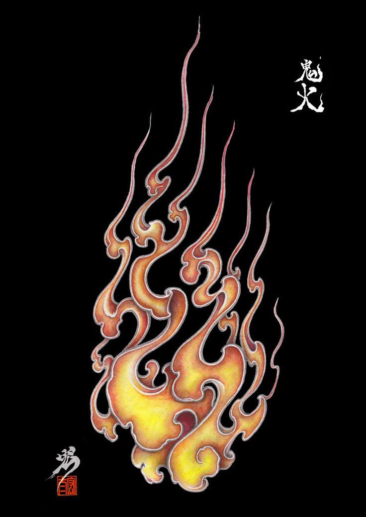 Fire pattern of Japan on Behance