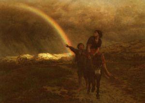 L' Arc-En-Ciel (The Rainbow)  Jules (Adolphe Aime Louis) Breton