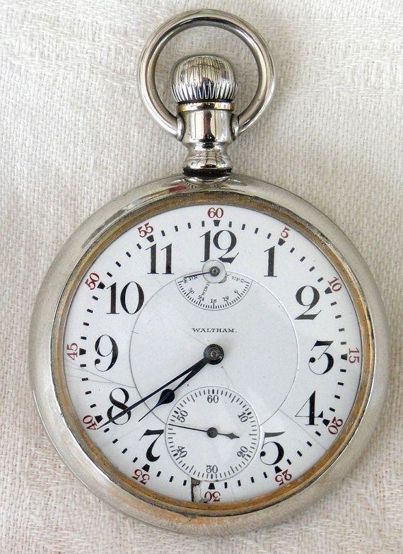1907 Waltham Railroad Pocket Watch-Vanguard by TheCalamityHouse