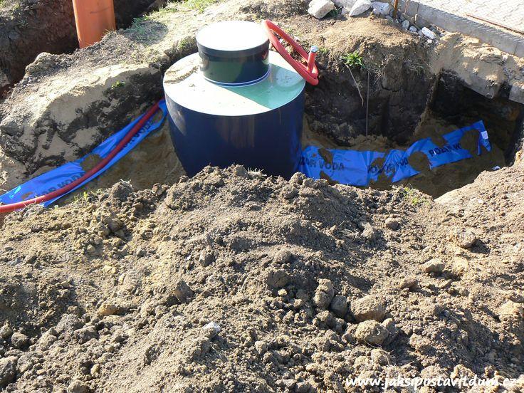 2. ETAPA | ZÁKLADY DOMU | Zhotovení vodovodního systému