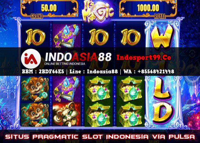 Situs Pragmatic Slot Indonesia Via Pulsa | Indonesia, Beri, Joker