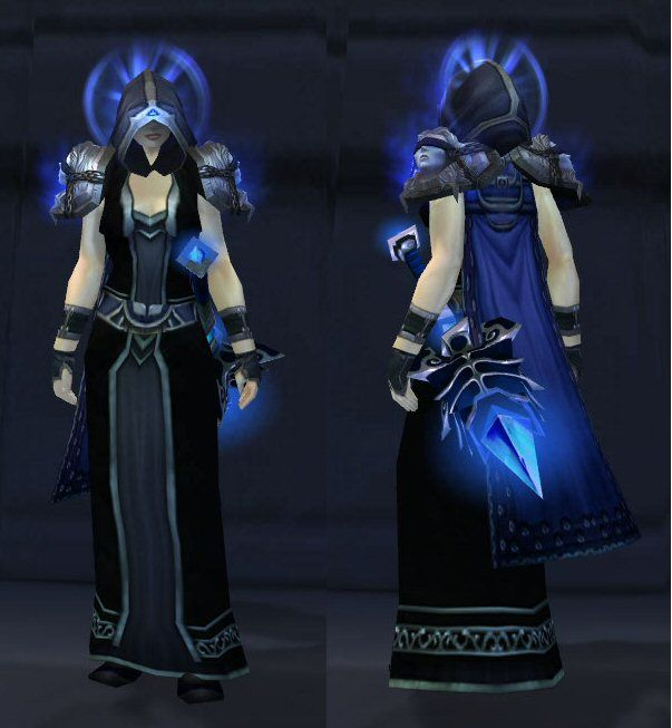 Wow lovely black dress transmog
