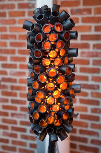 patio heating ideas patio heater jon sarriugarte steam punk style patio heater - Patio Heating Ideas