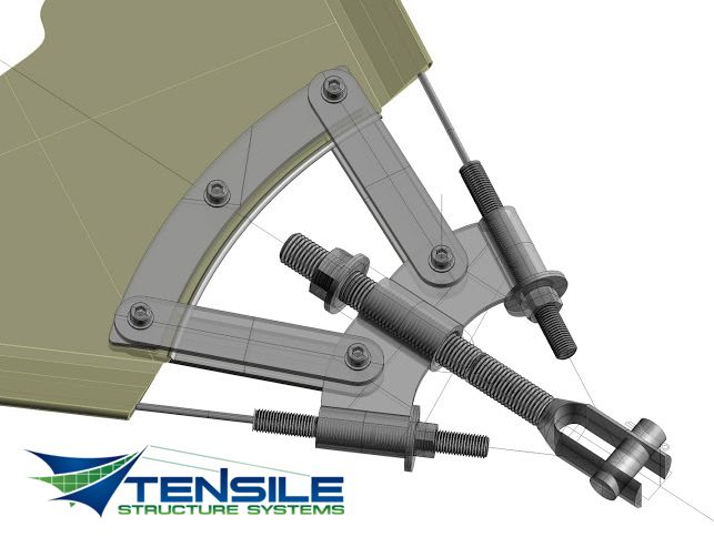 cable engineer stucture | Engineering and Design Tensile Structure Systems