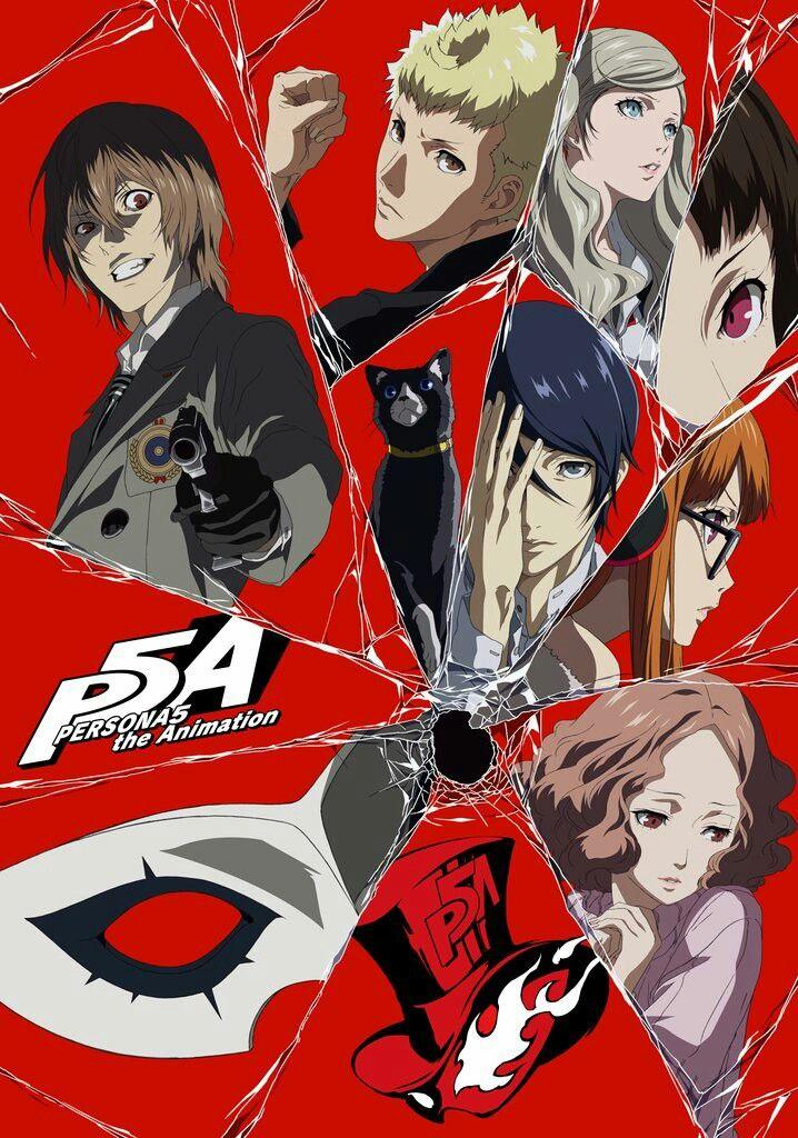 Persona 5 the Animation New Key Visual (Dengan gambar)
