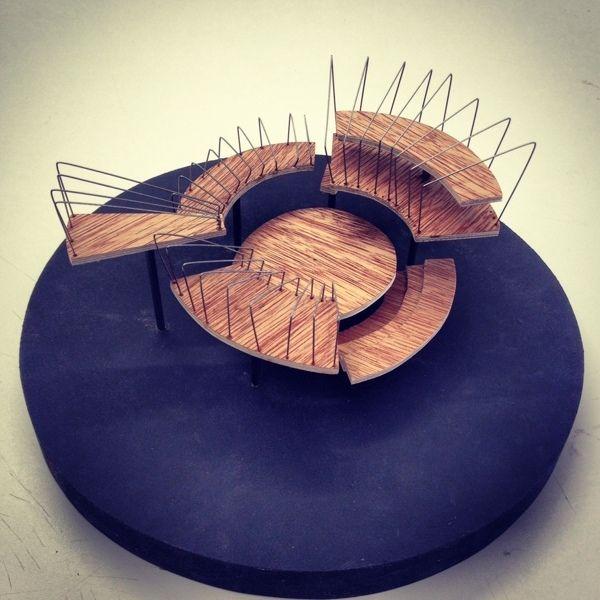Raphael Arthur Architecture Models on Behance