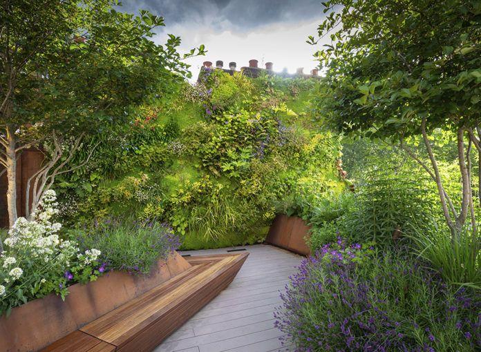 Garden Design Trends For 2020 The English Garden In 2020 Roof Garden Design Garden Design London Garden