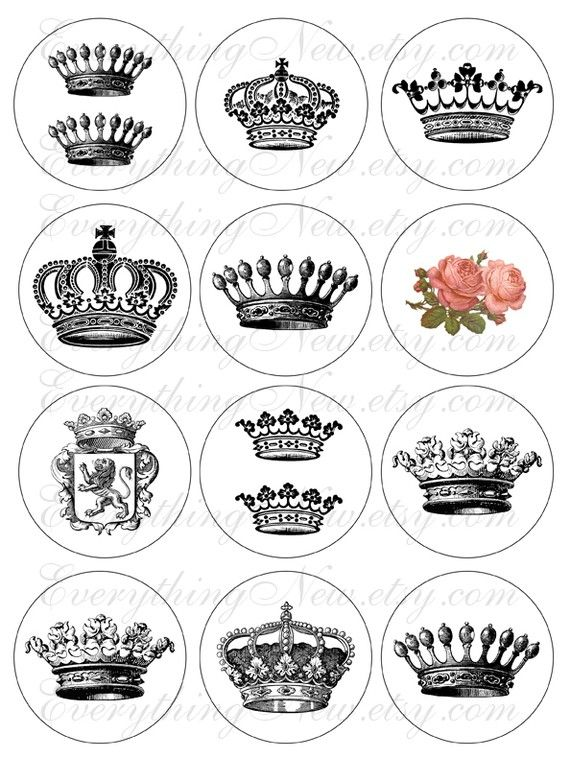 crowns for a tattoo