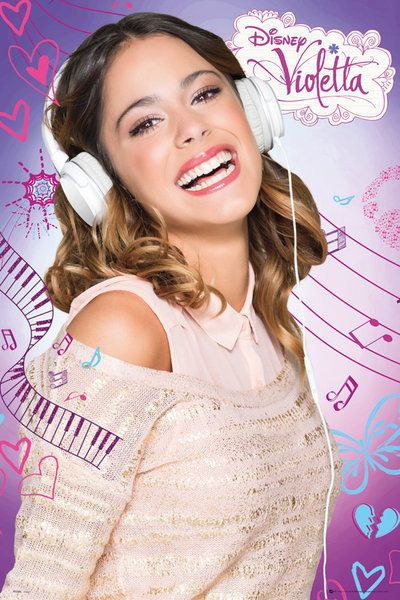 VIOLETTA - Violetta Poster | Sold at Europosters