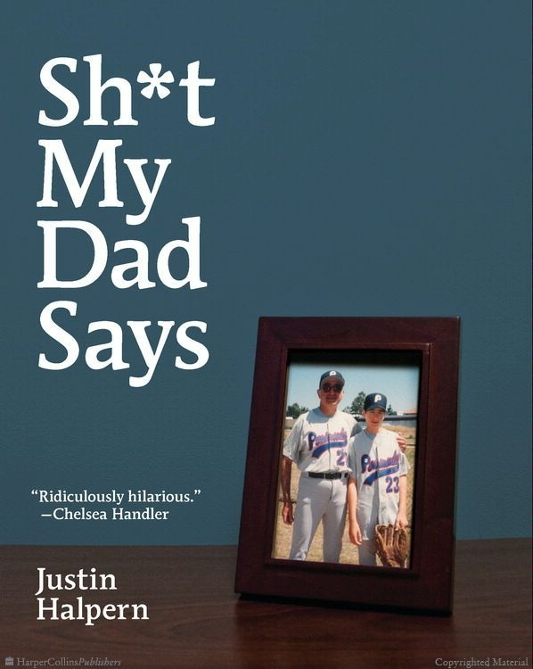 Sh*t My Dad Says by Justin Halpern. I needed a light and funny read and this fits the ticket.