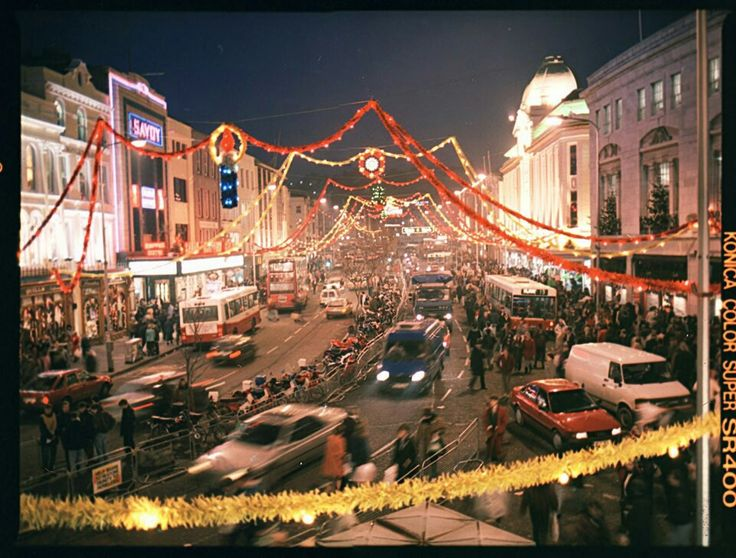 Patrick's St at Christmas in the 80's