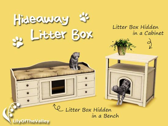 LilyOfTheValley's Hideaway Litter Box