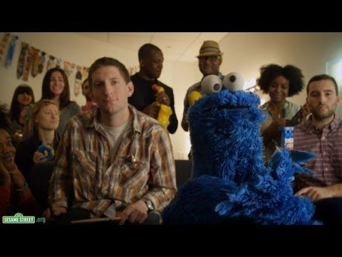 "LOVE this!!!  My kiddos beg for me to play Cookie Monster singing ""Share it Maybe""! So stinkin' cute!"