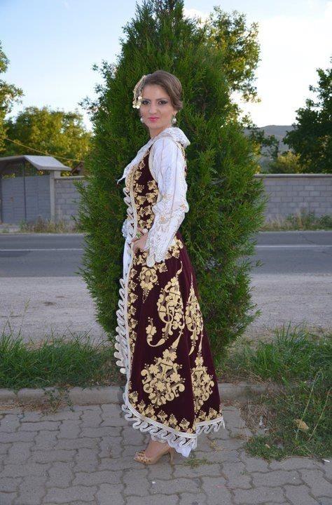 Albanian Kosova costume Shalvare Dimija Dallama