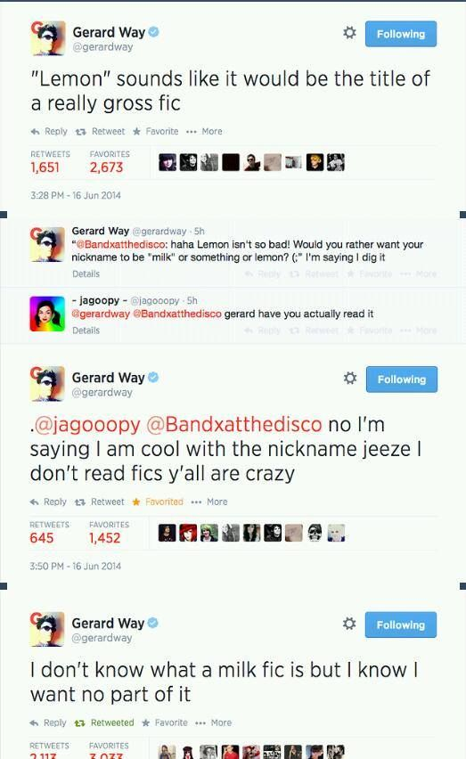 Someone make a fic about Gee called Lemon please and thank you