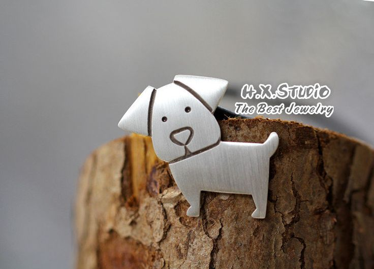 Handmade Silver Dog Pendant, Silver 990 Lovely Dog Pendant, Anniversary, Birthday, Christmas, Gift, Wholesale Available