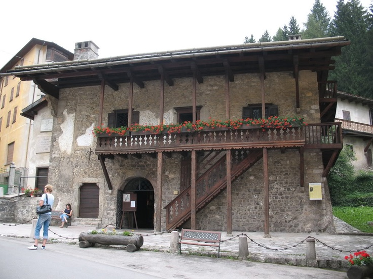 PIEVE DI CADORE Casa di Tiziano Vecellio - Veneto, Italy    I can trace my roots to this house.