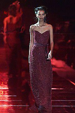 Badgley Mischka Fall 2001 Ready-to-Wear Fashion Show - Mark Badgley, Liya Kebede