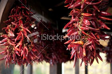 Dried hungarian red pepper Royalty Free Stock Photo